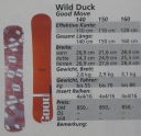 FOR TRADE (or Sale) Wild Duck - Good Move